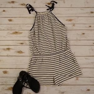 Madewell Striped Romper